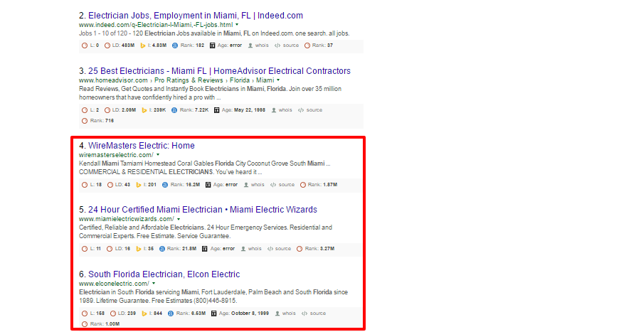 Electrician Miami FL Google Search