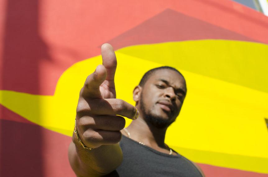 Rapper Aaron Mitchell